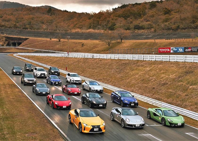 国際交通國際グループ富士スピードウェイ走行会開催