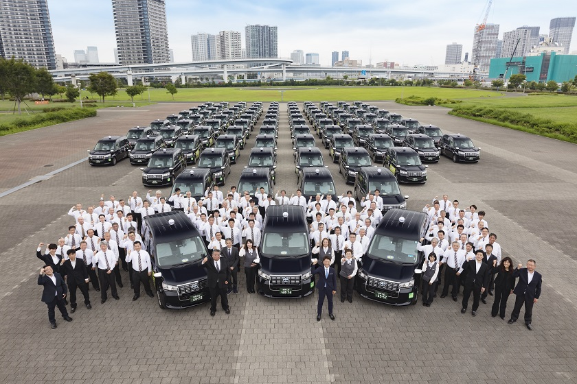 国際交通100%ジャパンタクシー