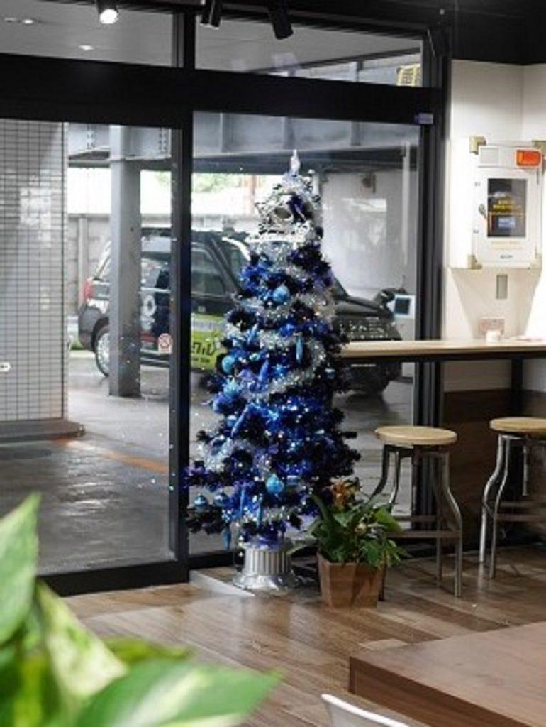 国際交通クリスマスツリー